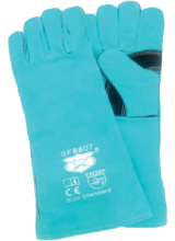 SF 8807   Leather Welding Gloves Brand - Savior