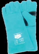 SF 8807   Leather Welding Gloves Brand - Savior